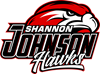 SJE logo:  Hawk head over the school name