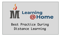 MCS logo Learning@home best practices distance learning